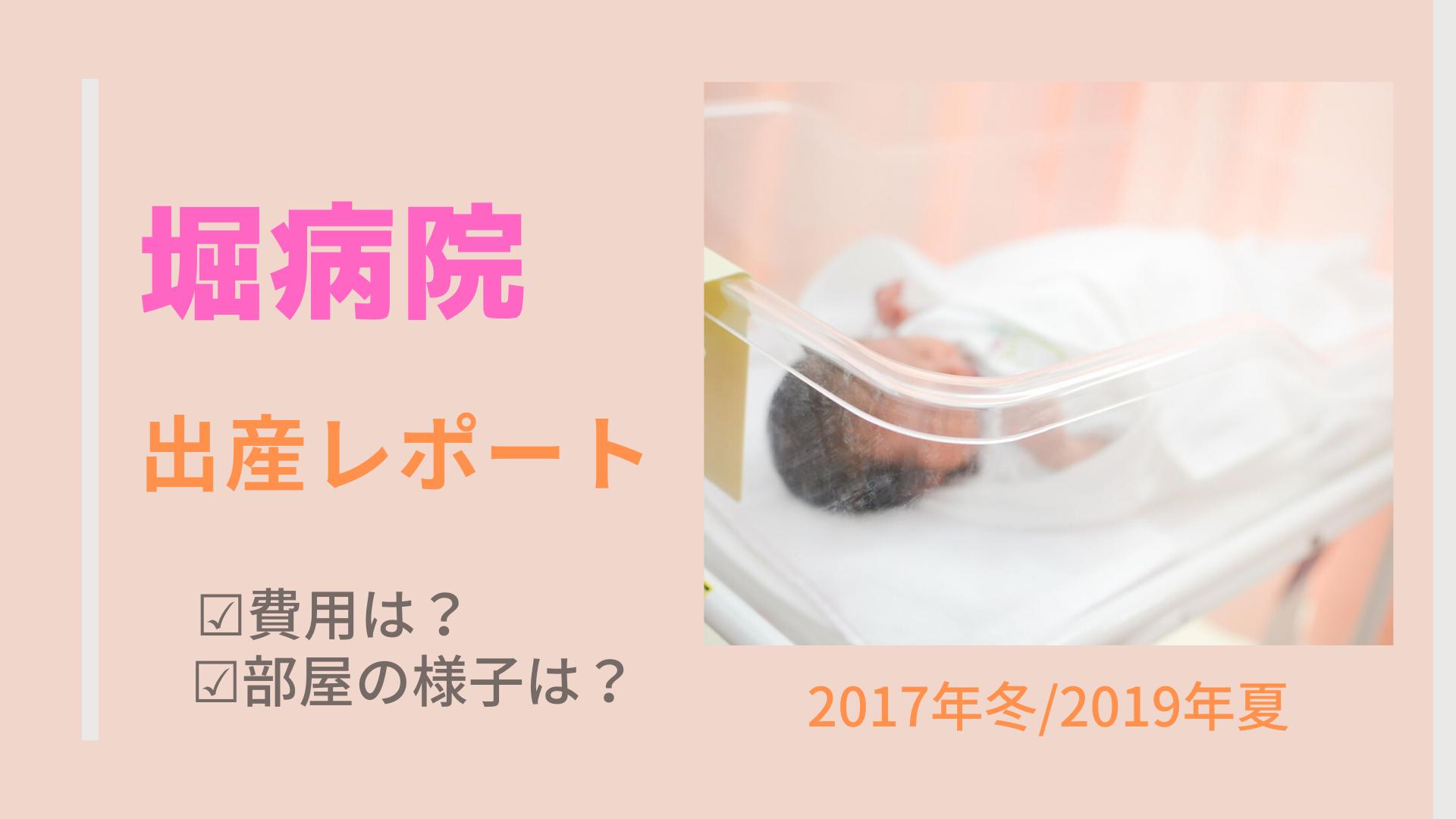横浜市の堀病院のでの出産体験ブログです。