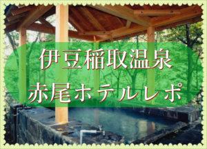 【子連れ伊豆旅行】稲取温泉赤尾ホテル宿泊の口コミ体験談